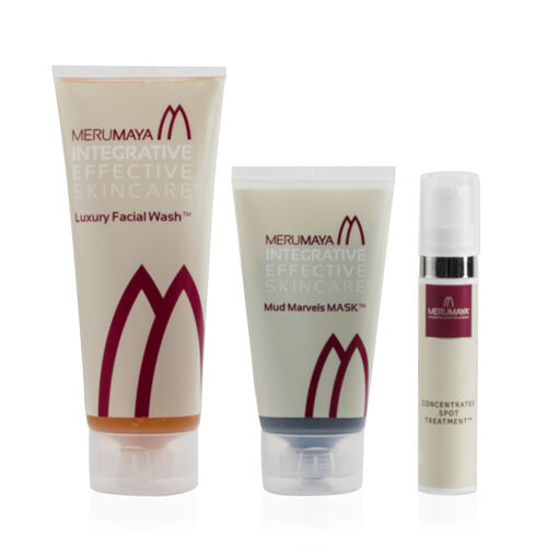 MERUMAYA- Super Spot Remover- Luxury Facial Wash, Mud Marvels Mask and Concentrated Spot Remover- Estimated delivery within 3 working days- Estimated delivery within 3 working days