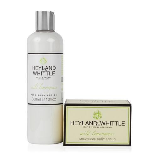 Heyland & Whittle: Wild Lemongrass Body Scrub & Body Lotion