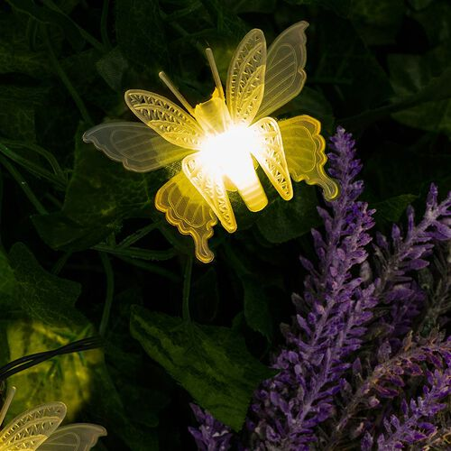 New Arrival Garden Decoration- String Butterfly Lights (10 LED)