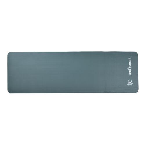NBR Yoga Mat with Strap (188x61x1.27 Cm) - Atrovirens