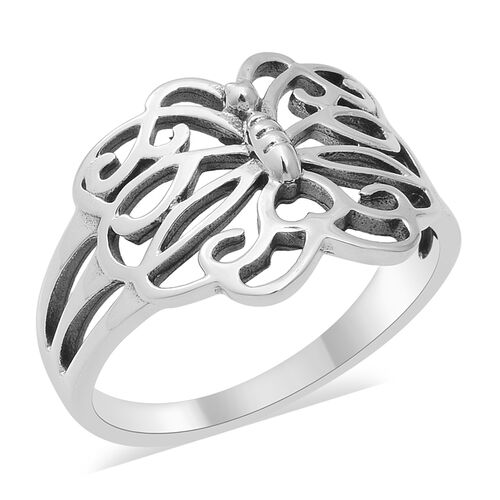 Butterfly Ring in Sterling Silver 3.52 Grams