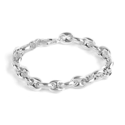 Sterling Silver Mariner Bracelet (Size 7), Silver wt 11.20 Gms