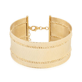9K Yellow Gold Bangle (Size 7 and 1 inch Extender), Gold wt 18.00 Gms.