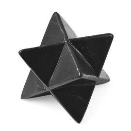 Gem Decor - Shungite Merkaba Star Approx 598.00 Carats