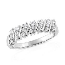 RHAPSODY 950 Platinum IGI Certified Diamond (Rnd) (VS /E-F) Ring 0.500 Ct