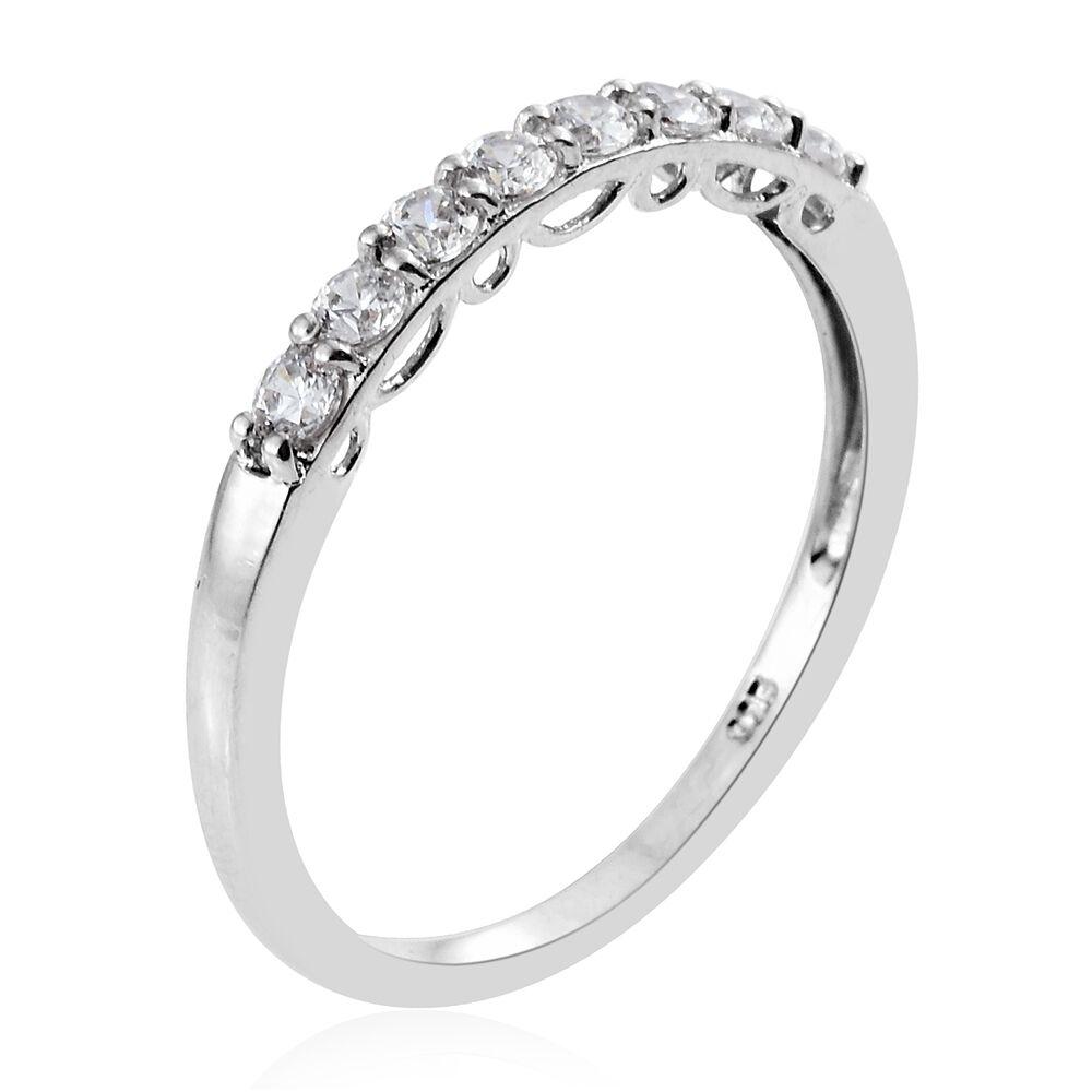 [Sponsored]TJC Set of 3 Platinum 14K Gold RG Over Silver Ring made with Swarovski® Zirconia cog9vWRFKK