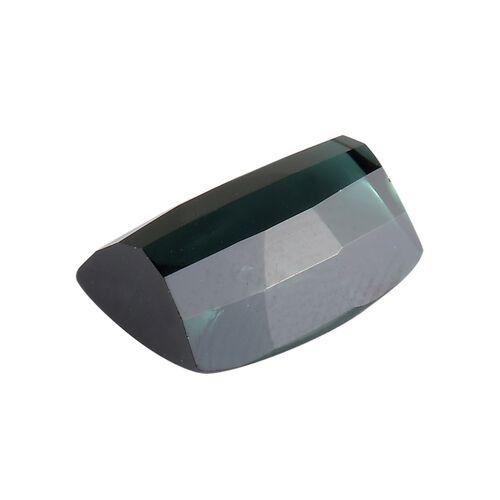 AA Green Tourmaline Cushion 12x9.5 Buff Top 5.25 Cts