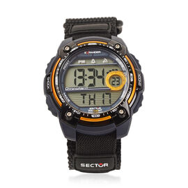 SECTOR NO LIMITS - Street Digital Orange and Black Strap Watch