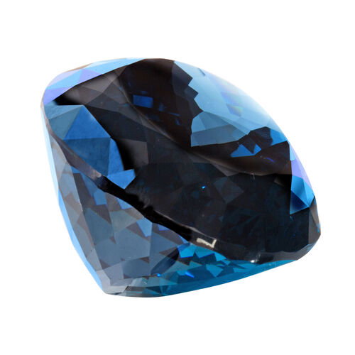 London Blue Topaz Oval 66x42 Faceted 3A 600.440 Cts