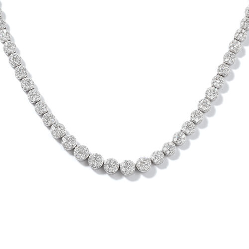 RHAPSODY 950 Platinum Diamond IGI Certified (Rnd) (VS/E-F) Necklace (Size 15 with 3 inch Extender) 5