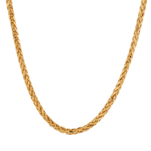 Italian Made 22K Yellow Gold Chain (Size 18), Gold Wt. 7.22 Gms