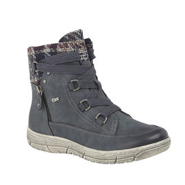 Lotus Denim Teagan Zip-Up Ladies Ankle Boots