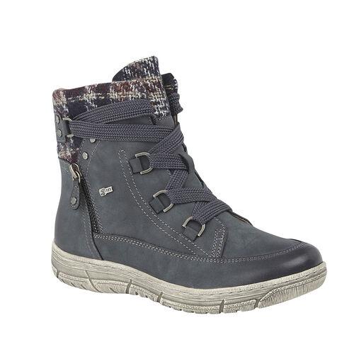 Lotus Denim Teagan Zip-Up Ladies Ankle Boots (Size 4)