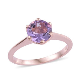 Rose De France (1.05 Ct) Sterling Silver Ring  1.250  Ct.