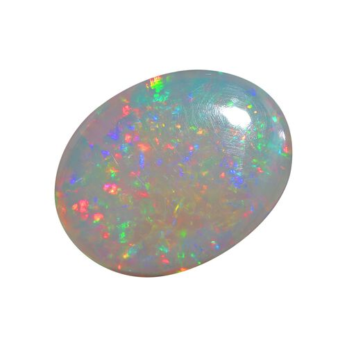 AAA Ethiopian Opal Oval Free Cabochon 22.53 Cts