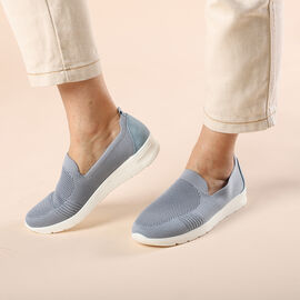 DOD- LA MAREY Flexible and Comfortable Women Shoes in Blue