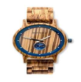Value Buy - Botanica Sycamore Zebranowood and Woodlink Strap Watch
