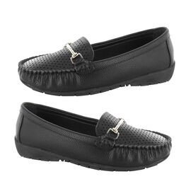 Ella Betty Loafer in Black Colour