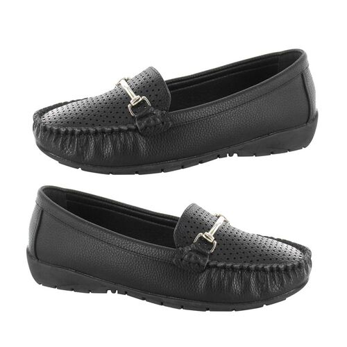 Ella Betty Loafer (Size 3) - Black