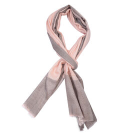 100% Cashmere Wool Pink Colour Ultra Soft Scarf (Size 200X70 Cm)