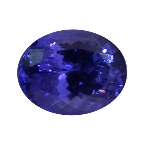 IGI Certified Tanzanite Faceted (Oval 10.93x8.78 3A) 3.630 Cts (GT12934705)