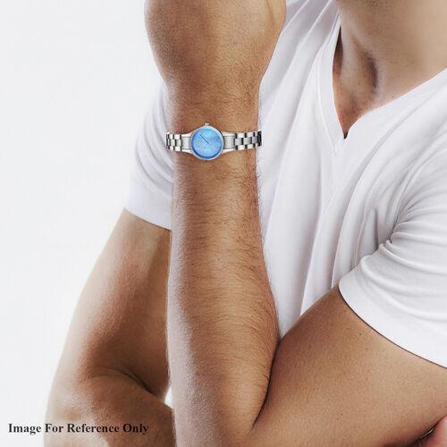 CALVIN KLEIN Made in Switzerland Water Resistance Blue Dial (Size 28mm) Quartz Women Watch