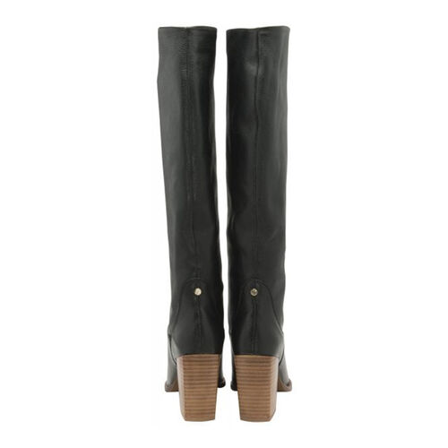 Ravel Lumsden Knee-High Leather Boots (Size 8) - Black
