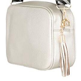 Kris Ana Tassel Zip Crossbody Bag - Rose Gold