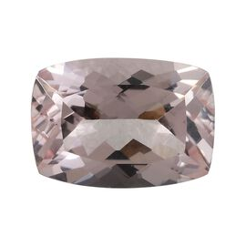 AAA Pink Morganite Cushion 14x10 Faceted 6.25 Cts