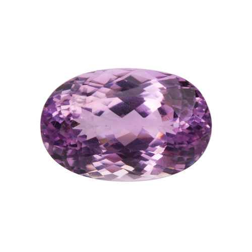 Kunzite (Oval 21.5x14 Faceted 3A) 28.290 Cts