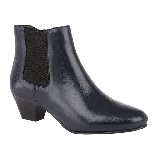Lotus VICTORIA  Ankle Boots (Size 7) - Navy
