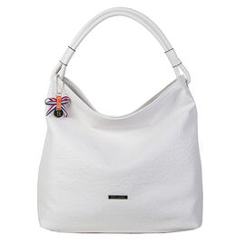 Bulaggi Collection - Sabrina Hobo Bag (Size 35x34x13 Cm) - White