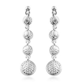 Sterling Silver Dangle Earrings (with Push Back) Silver wt 3.14 Gms.