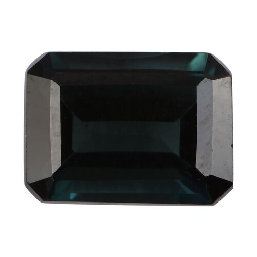 Indicolite Octagon 8x5.6 Faceted 1.59 Cts