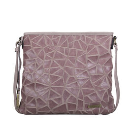Bulaggi Collection Cracky Crossbody Bag - Lilac