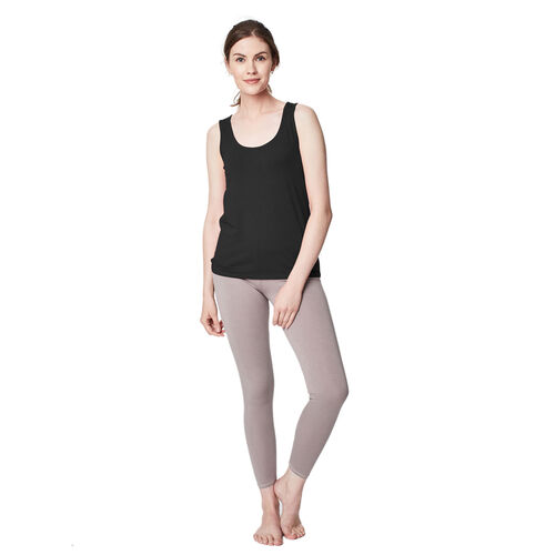 Thought Bamboo Base Layer Singlet (Size 10) - Black