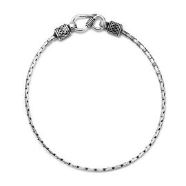 Chain Bracelet in Sterling Silver 4.66 Grams 7.5 Inch