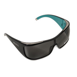 Brand New for Summer - KARL LAGERFELD Wrap Around Two Tone Sunglasses in Black and Blue