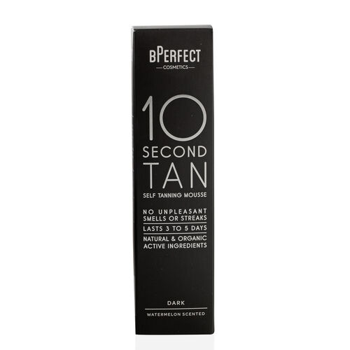 BPerfect 10 Second Self Tanning Mousse Dark Watermelon With Free Mitt