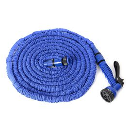 Expandable Garden Magic Water Hose Pipe (50 ft and expand to 150 ft equal to 45 meter)  - Blue