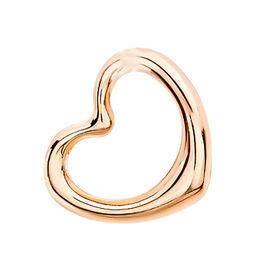 9K Rose Gold Floating Heart Pendant