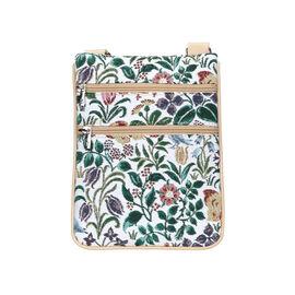 Brand New Arrival For TJC - SIGNARE - Tapestry Spring Flower Travel Wallet (19 cm x 23.5 cm)  estima