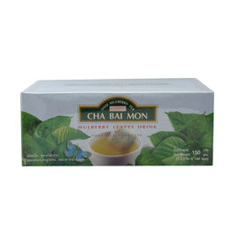CHA BAI MON - Ground Mulberry Leaves Tea in Sachets (100 Sachets)