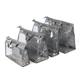 Set of  4  Handbag Dust Bags (Size 32x22x10.5cm, 39x29x19cm, 39x34x12.5cm, 45x36x22cm) - Transparent
