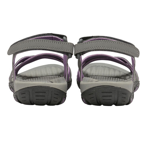 Gola Cedar Walking Sandal in Grey and Purple Colour