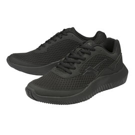 Gola Wexford Lace Up Trainer in Black Colour