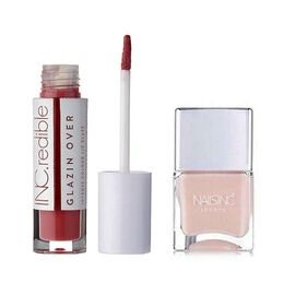 Nails Inc: Boys smell Lip Gloss & Thirsty Nails - 14ml