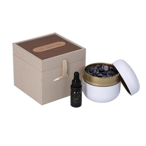 The 5th Season - French Block - Scented Amethyst in Gift Box with Essential Oil