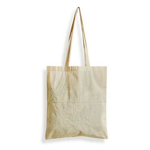 6 Piece Set - 100% Cotton Cream Colour Cloth Kitchen Bags in Roll Packing (Size 40x35 Cm)