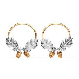 Diamond Sterling Silver Earring  0.020  Ct.